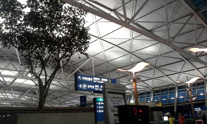 이른 오전의 공항.