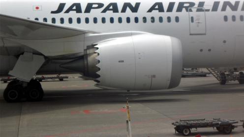 JAL의 비행기.