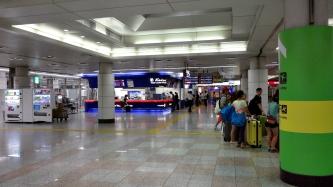 나리타 공항 내부