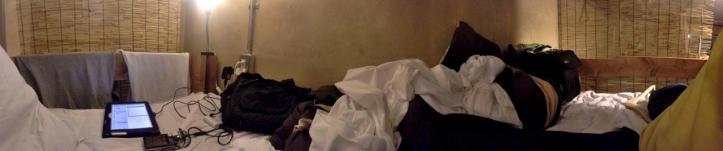 파노라마 침대.
